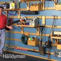 Custom Garage Storage | The Family Handyman