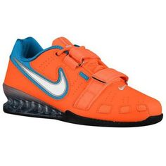 on sale 731f8 67942 nike blue and orange shoes,Nike Romaleos II Power Lifting - Men s - Training  - Shoes - Total Orange White Blue