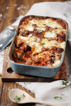 This aubergine gratin, it was happiness! :) And yet, I do … – The most beautiful recipes Chef Recipes, Meat Recipes, Whole Food Recipes, Vegetarian Recipes, Healthy Recipes, Aubergine Parmesan, Healthy Eating Tips, Vegetable Salad, My Favorite Food