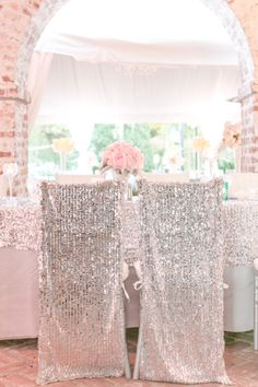 Forget Gold - This Wedding Proves Silver is Just As Pretty - Style Me Pretty