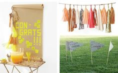 high+school+graduation+party+ideas | ... graduation party can easily be adapted using different school colors