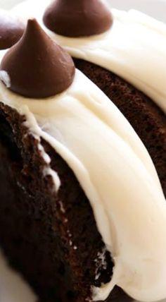 Hershey's Kisses Bundt Cake