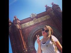 Eurotrip 7: Barcelona - Arco do Triunfo, La Pedrera, Casa Battló, Catedral de Santa Eulália e praia - YouTube