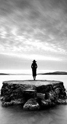 .photography black and white sea