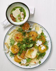 Dill-Orangen-Salat mit Fenchel und Koriander