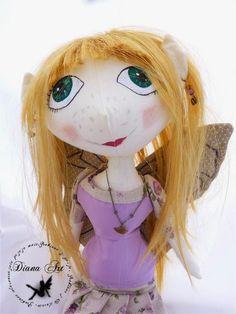 Diana Art, doll, hand made, fairy
