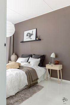 Today we're going to talk about Modern Floor Lamps in a different room of your home! Library Day, the place where you can work, relax or read a book. Bedroom Decor Lights, Bedroom Wall Colors, Room Ideas Bedroom, Room Colors, Home Decor Bedroom, Home Room Design, Interior Design Living Room, Room Inspiration, Decorate Apartment