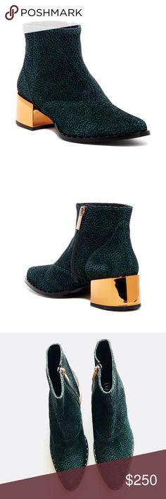 02f0d1abb4a New Ivy Kirzhner Cirque Ankle Boots This ankle boot features a fun and edgy  design