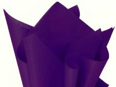 """Purple Tissue Paper 15"""" X 20"""" - 100 Sheets by Premium Quality Tissue Paper. $8.00. Bulk quantity of 48 sheets in this package.. Huge variety of latest trendy colors to choose from - check them all out!. Great for decorative use in cello bags, gift baskets & bags, gift packaging and craft projects!. 20 inch x 30 inch sheets - great for medium/large flower poms!. Premium commercial quality tissue paper.. Perfect For Weddings, Showers, Parties, Gift Bags, Wrapping Paper, Many P..."""