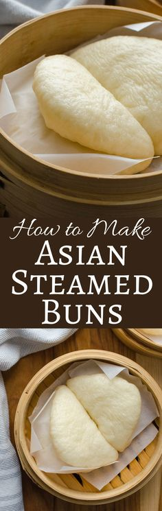 Healthy Recipes If you love Bao Buns, but have never made them, get this step-by-step recipe that will teach you how to make Asian Steamed Buns at home! - These steamed buns are the perfect receptacle for most Asian-Inspired fillings! Vegetarian Recipes, Cooking Recipes, Healthy Recipes, Sausage Recipes, Cool Recipes, Korean Food Recipes, Healthy Japanese Recipes, Steam Recipes, Indian Recipes