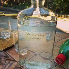 Apricot rakija Serbian Food, Serbian Recipes, Just Like Candy, Drink Bottles, Glass Vase