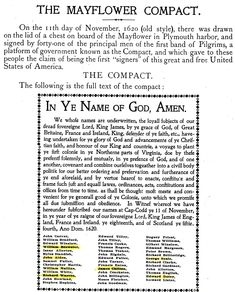 the Mayflower Compact and its signers. my relatives are William Brewster and Samuel Fuller Us History, History Facts, Family History, American History, Ancient History, Genealogy Research, Family Genealogy, Mayflower Compact, Cc Cycle 3