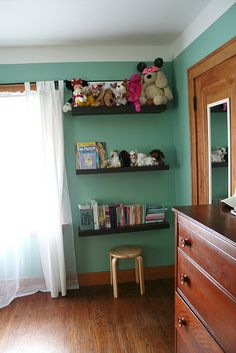 """We remodeled my 11 year old """"tween"""" daughter's bedroom a few months ago and are just getting around to posting the photos!    her room used to be pink, purple and orange.......very """"little girly"""", and she thought it was time for a more """"grown up"""" look. Be sure to see our fun tiffany blue bedroom home decor ideas at www.CreativeHomeDecorations.com"""