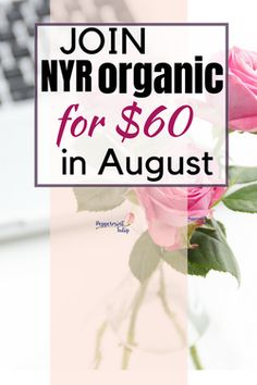Join NYR Organic for