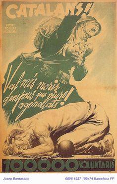 Spain - 1937. - GC - poster - @ Josep Bardasano