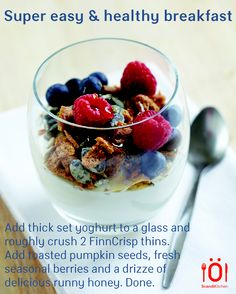 A super healthy way to start the day. And easy, too. www.scandikitchen.co.uk