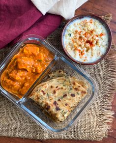 Paratha Recipes, Paneer Recipes, Easy Home Recipes, Spicy Recipes, Lunch Recipes Indian, Indian Lunch Box, Boondi Raita Recipe, Achari Paneer, Paneer Dishes