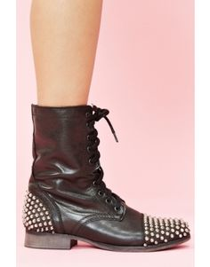 I want: Studded Combat Boot