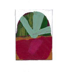 1  ACEO small original contemporary fine art by Rina Miriam Drescher