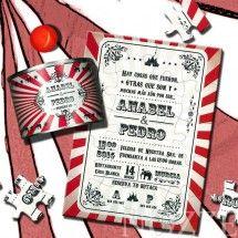 Puzzle en lata serie Circus Vintage
