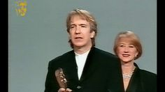 Alan Rickman Wins Supporting Actor for Robin Hood: Prince of Thieves in ...