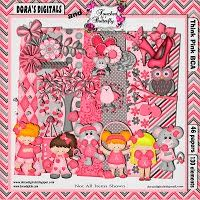 marniejo's house of scraps: Think Pink Fundraiser Freebie