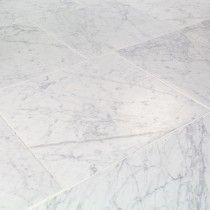 Catalina Carrara 18x18 Marble Tile $18.90  TileBar 2017 for entryway