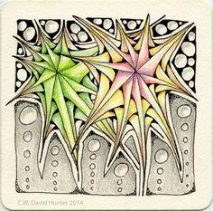 "Exploring Art: Diva Challenge #191-Monotangle ""Betweed"" Part 2"