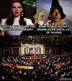 Wizard of Oz meets Congress - No Hope Wall Posts - Images - nohope.org