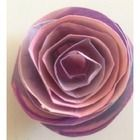 Such a simple and effective way to make a magnificent paper rose. Kindergarten Worksheets, Paper Roses, Occupational Therapy, Fine Motor Skills, Paper Plates, Fun Activities, Art Projects, Arts And Crafts, Simple
