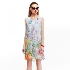 flowers, spring, summer, spektra, dresses. Kwiecista sukienka, tunika Spektra Studio Producent odzieży damskiej