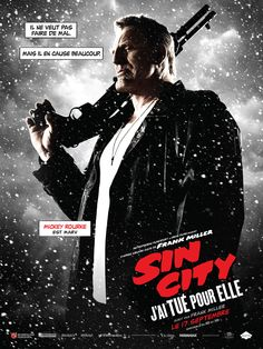 Directed by Frank Miller, Robert Rodriguez. With Mickey Rourke, Jessica Alba, Josh Brolin, Joseph Gordon-Levitt. Some of Sin City's most hard-boiled citizens cross paths with a few of its more reviled inhabitants. Sin City 2, Sin City Film, Iconic Movie Posters, Cinema Posters, Original Movie Posters, Iconic Movies, Cult Movies, Action Movies, Skyfall