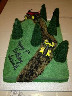 atv birthday cake Pinteres