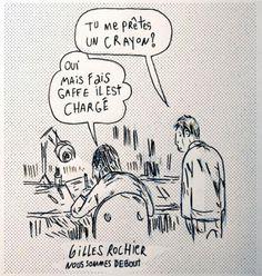 Dessins hommages à Charlie Hebdo - Gilles Rochier