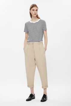 COS | Loose-fit cotton chinos