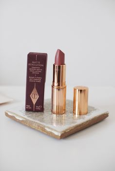Charlotte Tilbury has just launched two new shades, Pillow Talk from the matte revolution collection and Valentine from her K.I.S...