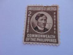 2 Centavos Philippines Postage Stamp