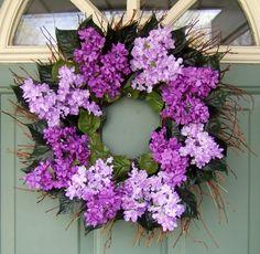 Lilac wreath -gorgeous