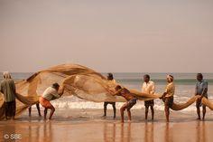 Fishermen, Kerala, India.