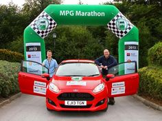 #Ford #Fiesta wins MPG Marathon for the second year in a row.