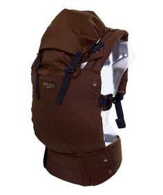 Take a look at this Toffee Complete Organic Carrier by líllébaby on #zulily today!