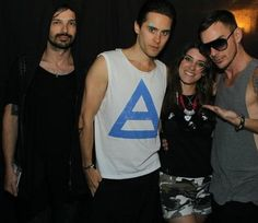 me and 30 seconds to mars 6-7-2011