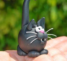 MissOwlCat: Polimer Kil ve Kedi ♥