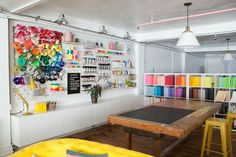 So adorable!!! http://ohhappyday.com/2016/08/oh-happy-day-studio-tour-craft-area/