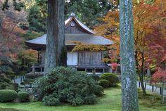Ojogokuraku-in of Sanzen-in in Ohara, Kyoto, Japan