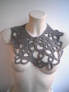 crochet necklace   Tumblr