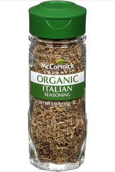 McCormick Gourmet Italian Seasoning brings the flavor of Italy to your table. Premium sourced herbs are certified organic and non GMO. Authentic flavor for pasta sauces, Chicken Parm, vinaigrette, pizza & minestrone. All-purpose herb seasoning for vegetables, soups, salads or braised meat dishes. Balsamic Vinegar Of Modena, Tomato Dishes, Natural Spice, Italian Spices, Vegetable Seasoning, Best Appetizers, Drying Herbs, Italian Seasoning, Gourmet Recipes