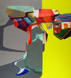 Nick Lamia Artist untitled - 72 x 66 inches - Oil on canvas - 2006