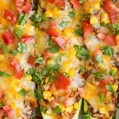 35 Mexican Chicken Dishes That Are Anything but Boring - chicken enchilada zucchini boats - Cooking Classy Healthy Recipes, Mexican Food Recipes, Low Carb Recipes, Diet Recipes, Chicken Recipes, Cooking Recipes, Recipe Chicken, Healthy Chicken, Vegetarian Recipes