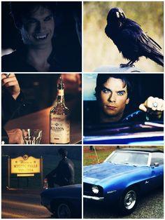 Damon Salvatore Damon Salvatore Vampire Diaries, Stefan Salvatore, Daimon Salvatore, Hello Brother, Bonnie Bennett, Vampires And Werewolves, Bad Influence, Katherine Pierce, New Friendship